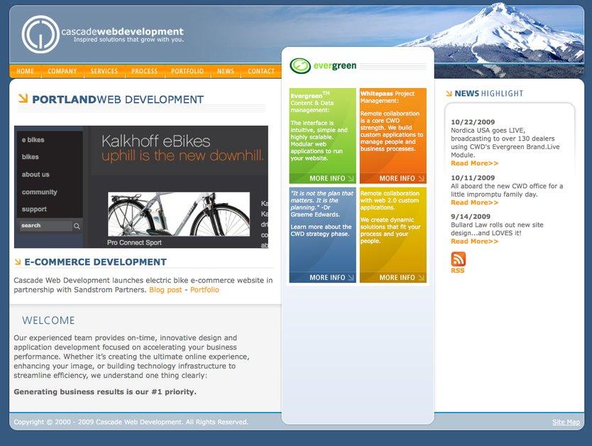 A great web design by Cascade Web Development, Portland, OR: