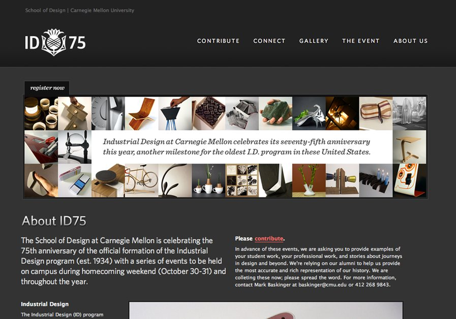 A great web design by 417east, Pittsburgh, PA: