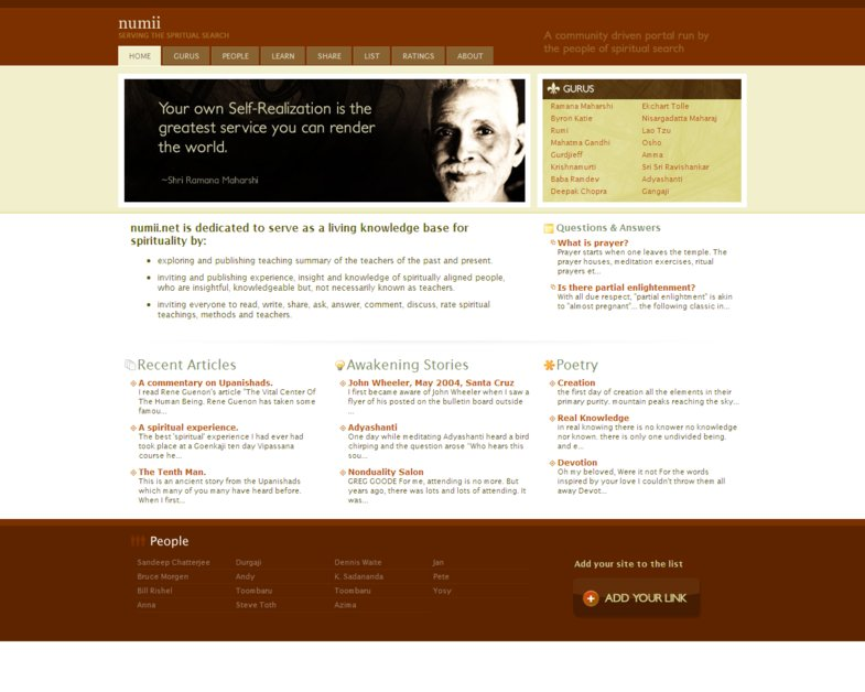 A great web design by CafeUX, Pune, India:
