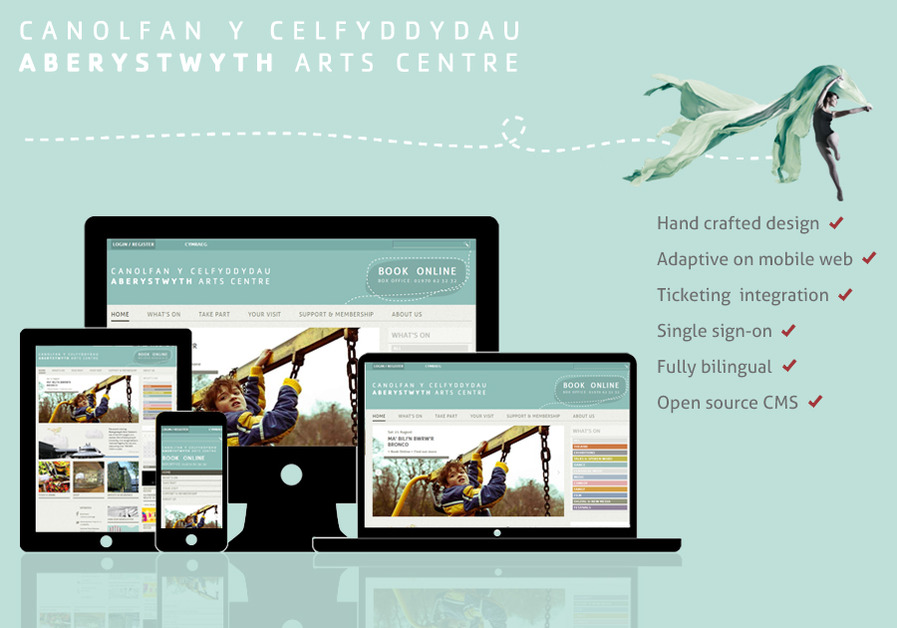 A great web design by Tincan, Aberystwyth, United Kingdom: