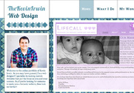 A great web design by Kevin Irwin, Oklahoma City, OK: