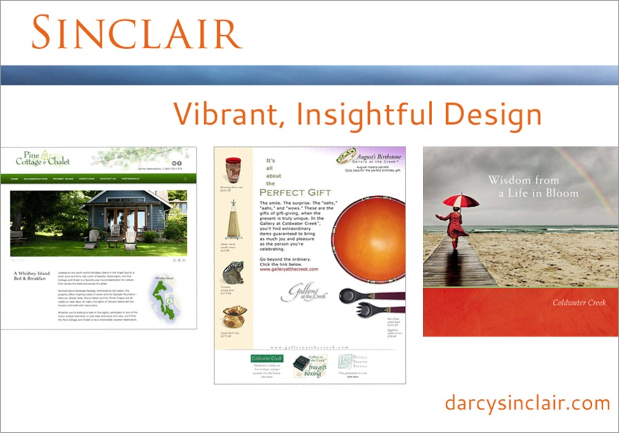 A great web design by Sinclair, Seattle, WA: