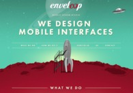A great web design by Enveloop, Warsaw Poland, Poland: