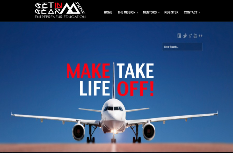 A great web design by The Mastermind Collective, Los Angeles, CA: