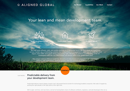 A great web design: Responsive Website, Marketing Website , Technology , Wordpress