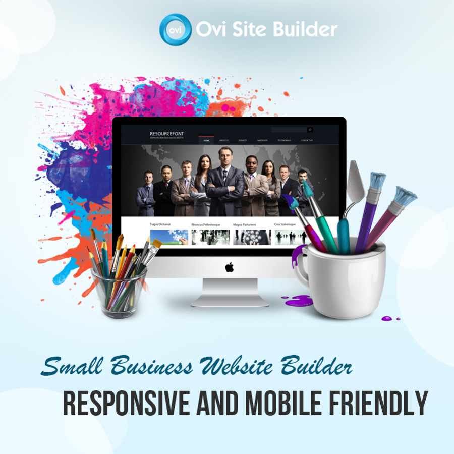 A great web design by OVI Site Builder, Bangalore, India: Responsive Website, Marketing Website , Technology , Static HTML