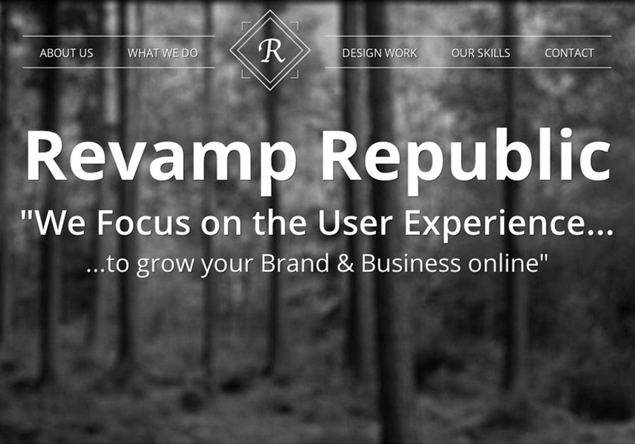 A great web design by Revamp Republic, Inc., Seattle, WA: