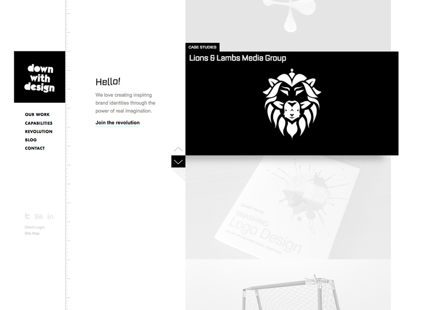 A great web design by Down With Design, Birmingham, United Kingdom: