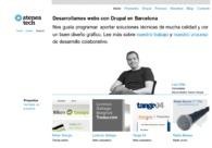 A great web design by Atenea tech, Barcelona, Spain: