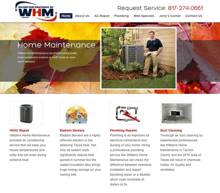 A great web design by Keyhouse Media, Dallas, TX: