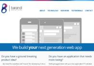 A great web design by Barandi Solutions, Cluj, Romania: Website, Marketing Website , Internet , Static HTML