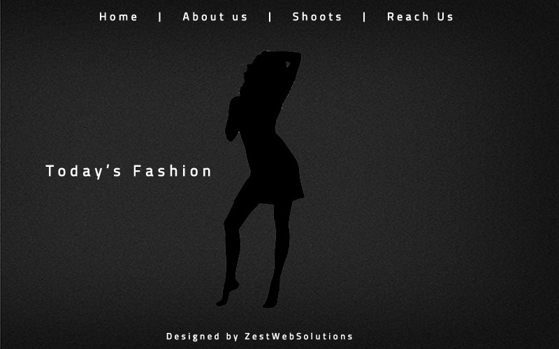 A great web design by Zest Web Solutions, Ahmedabad, India: