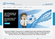 A great web design by CloudTactix, Madison, WI: