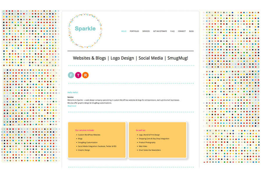 A great web design by sparkle i, Austin, TX:
