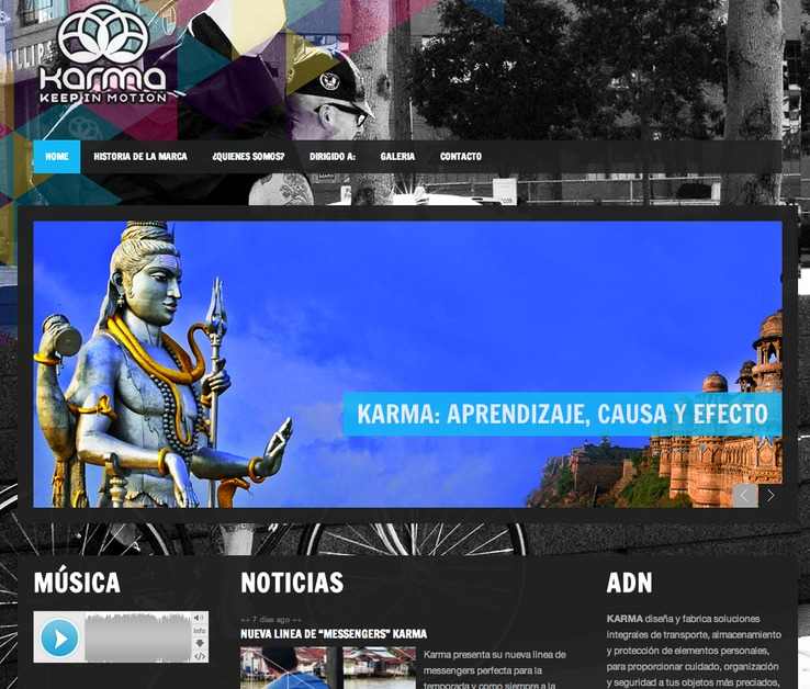 A great web design by vravus, Mexico City, Mexico: