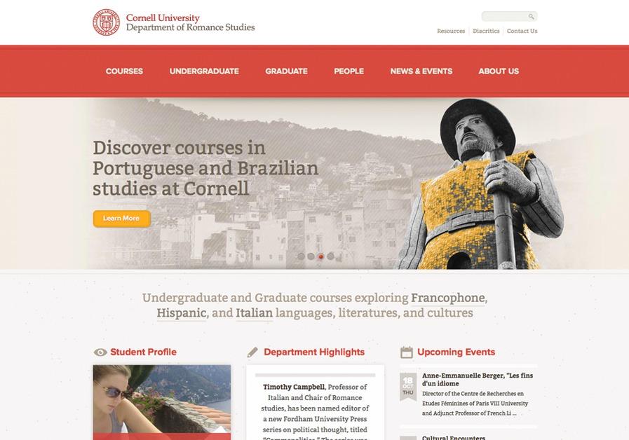 A great web design by Zanzinato, Ithaca, NY: