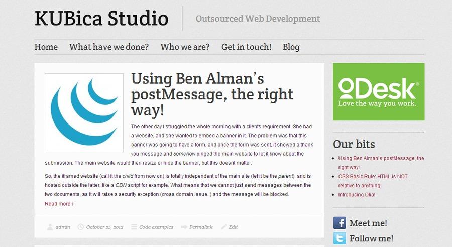A great web design by Kubica Studio, Ciudad de Buenos Aires, Argentina: