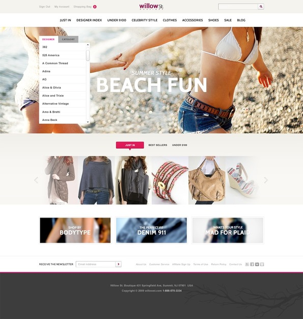 A great web design by Justin Woods - Freelance Creative, San Francisco, CA: