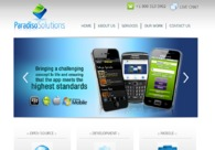 A great web design by Paradiso Solutions, San Francisco, CA: