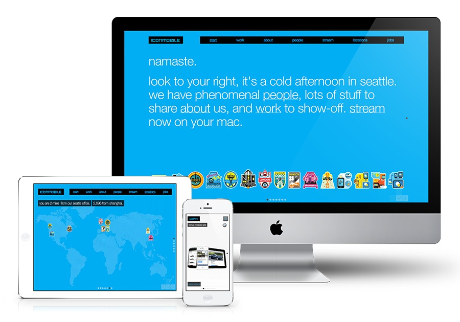 A great web design by Moby, Inc., Seattle, WA: Responsive Website, Portfolio