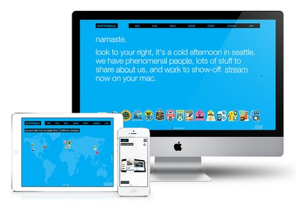 A great web design by Moby: Responsive Website, Portfolio