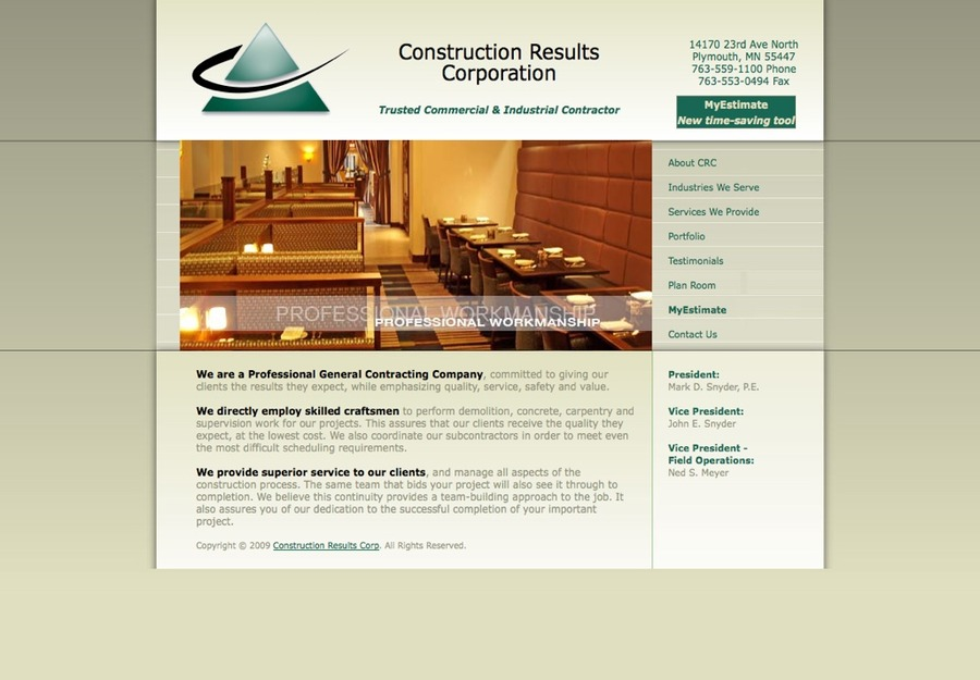 A great web design by VAP Services LLC, Raleigh, NC: