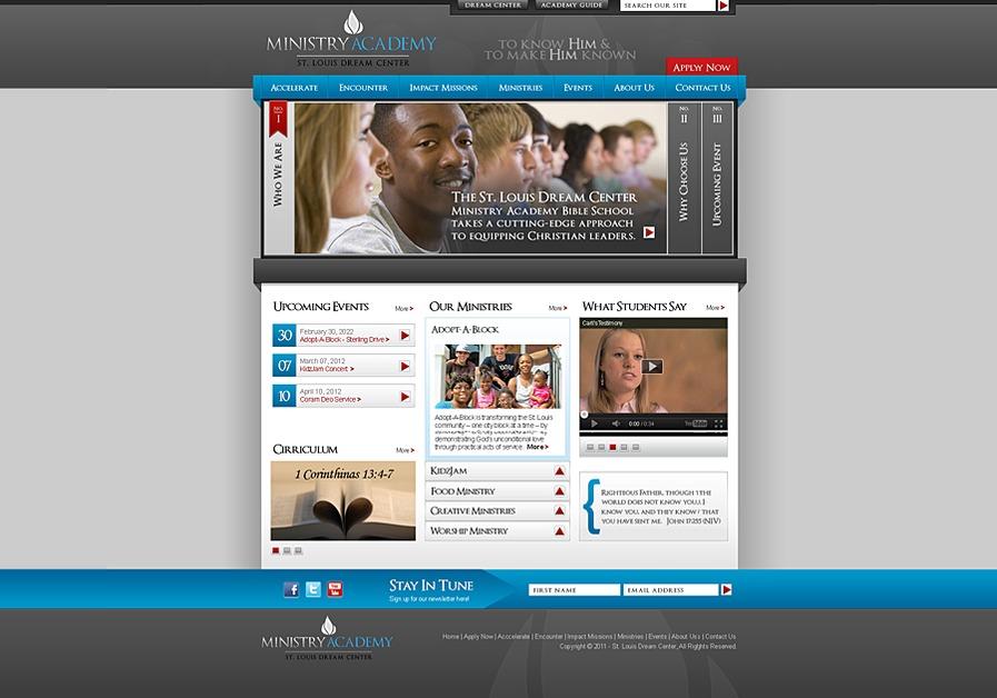 A great web design by Studio C5, LLC, St Louis, MO: