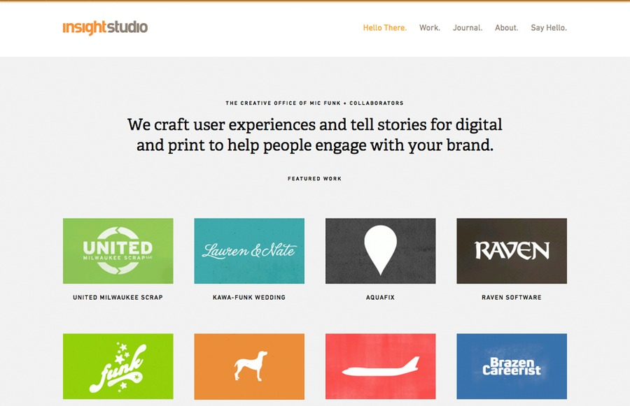 A great web design by insightstudio, Madison, WI: