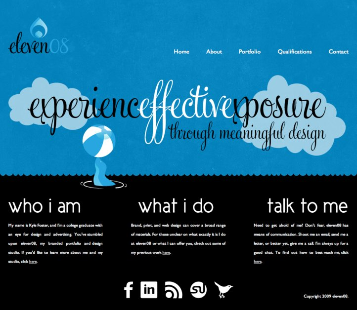 A great web design by eleven08, Birmingham, AL: