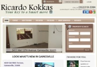 A great web design by SunCloud Design, Gainesville, FL:
