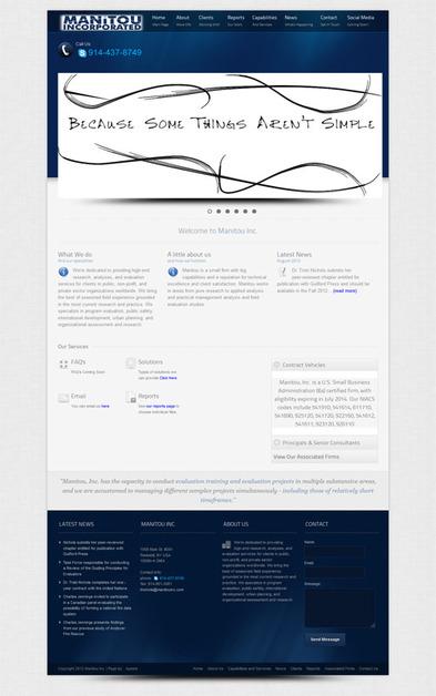 A great web design by Apeirix Designs, Scranton, PA: