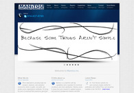 A great web design by Apeirix Designs, Scranton, PA: