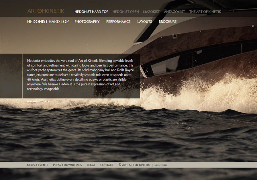A great web design by Fly Me To The Moon, Belgrade, Serbia: