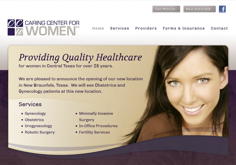 A great web design by TopSearchWebsites.com, Austin, TX: