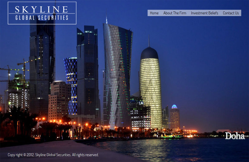 A great web design by Optimum Creative, Karachi, Pakistan: