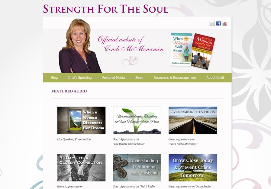 A great web design by Jenn Murray: Web Designer, Pittsburgh, PA:
