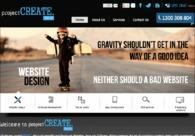 A great web design by projectCREATE, Sydney, Australia: