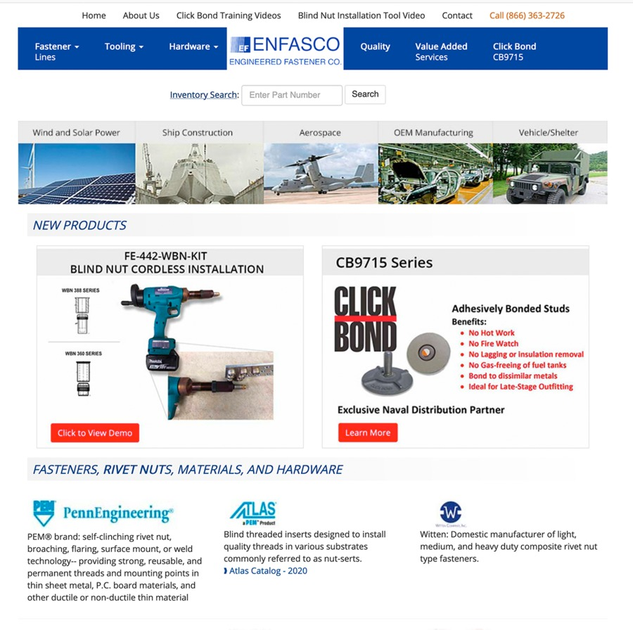 A great web design by Red Crown Digital, Cherry Hill, NJ: Responsive Website, Aerospace