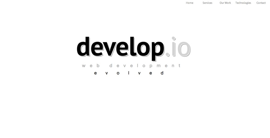 A great web design by develop.io, New York, NY: