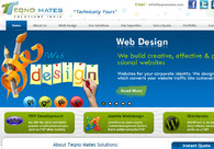 A great web design by http://www.teqnomates.com/, Rajkot, India: