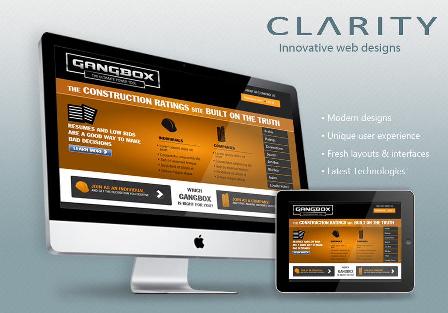 A great web design by Clarity, Austin, TX: