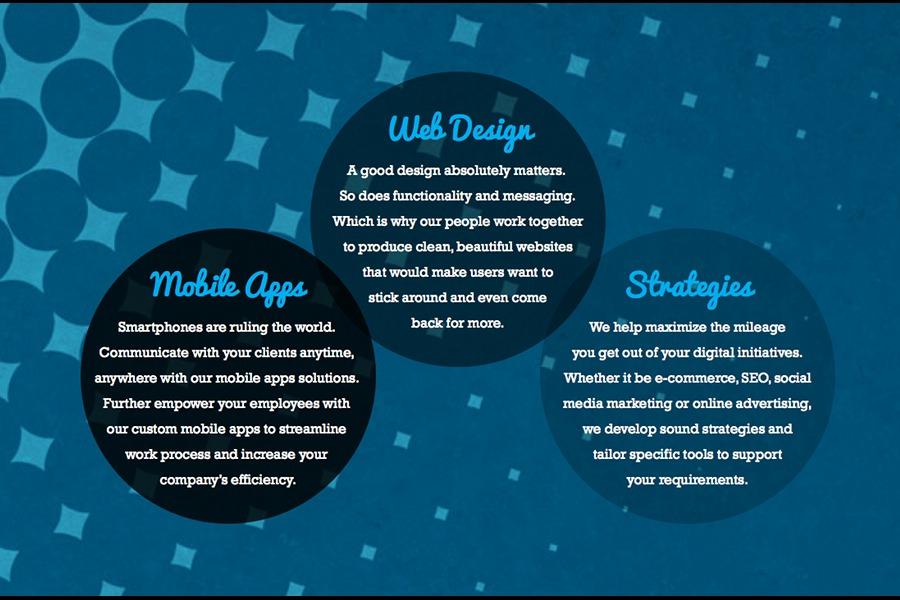 A great web design by Tech + Art , Singapore, Singapore: