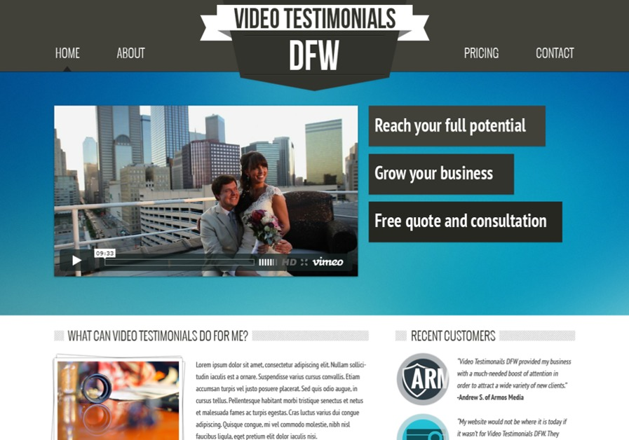 A great web design by Armos Media, Vero Beach, FL: