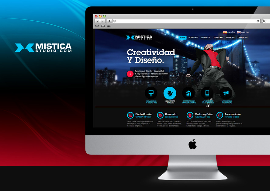 A great web design by MisticaStudio.com, La Plata, Argentina: