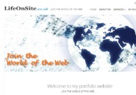A great web design by LifeOnSite.co.uk, London, United Kingdom: