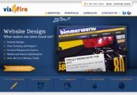 A great web design by VisFire, Atlanta, GA: