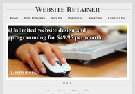 A great web design by Website Retainer, Chicago, IL: