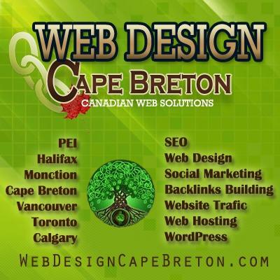 A great web design by Web Design Cape Breton, Cape Breton, Canada: