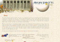 A great web design by Arcane Palette Creative Design, Salt Lake City, UT:
