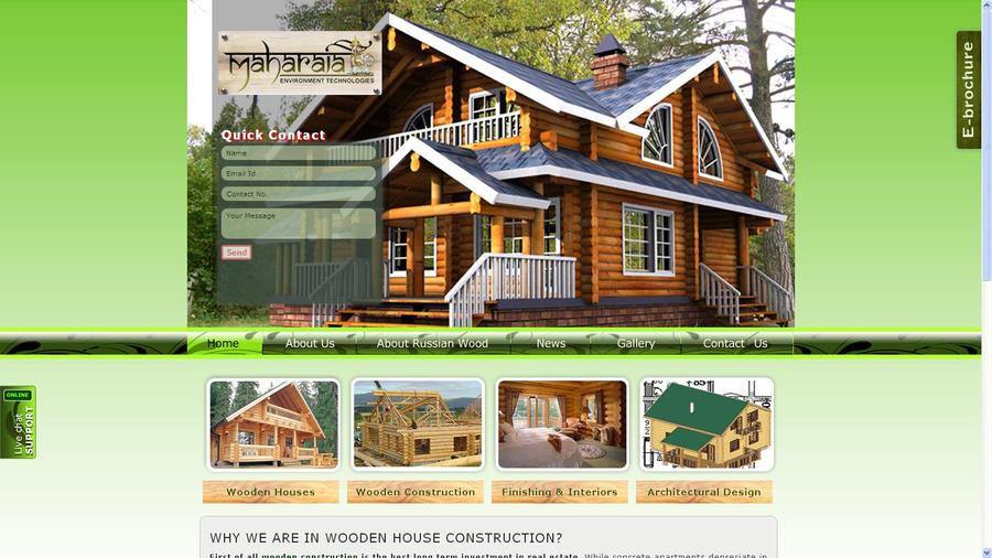 A great web design by Maharaja Environment Technologies, Mumbai, India: